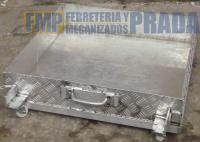Palangana recoletor de liquidos aluminio accesorios mecanizados